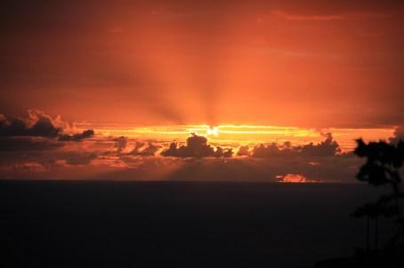 Sonnuntergang auf Sao Jorge / Azoren