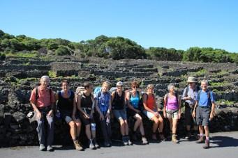 Wandern Richtung Madalena auf den Azoren