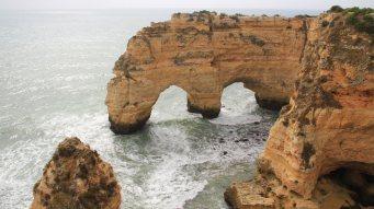 Wanderungen Portugal / Felsformationen-Suedkueste
