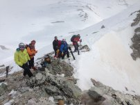 Skitouren Valmaira / Abfahrt vom Monte Freide