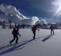 Skitouren Valmaira / Perfekte Bedingungen zum Punta Tempesta
