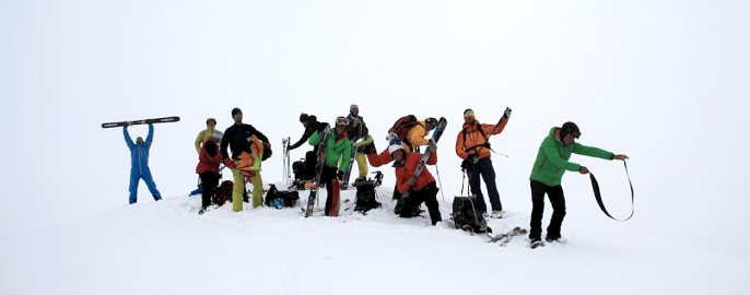 Ski-Expedition Kamtschatka