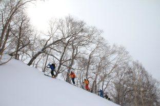 Ski-Expedition Kamtschatka: Skitour
