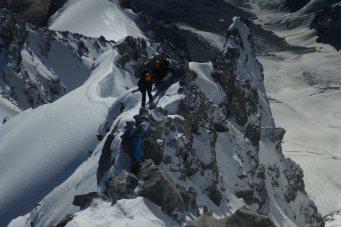 Hochtour Ortler Hintergrat: Bergüberschreitung