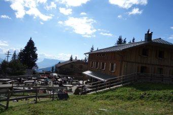 Bergtour Tschigot: Hochganghaus