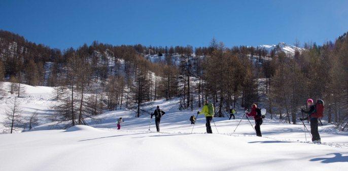 Skitouren Valle Maira 2015 / Tolles Skigelände