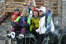 Skitouren Valle Maira / Viviere bei Fabrizio