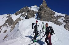 Skitouren Valle Maira / Zwischenstop am Zollte