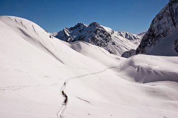 Skitouren Val-Maira / Richtung Colle del Enchiausa