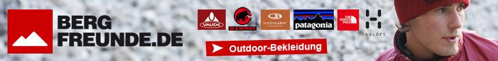 Outdoor Bekleidung mit Bergfreunde.de