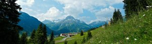 Panorama Arlberg Lech Zürs Oberlech Bergland Appartements Skiing Arlberg Vorarlberg Austria