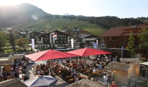 Das Lecher Dorffest - Nur eine zahlreicher Veranstaltungen im Sommer in den Bergen von Lech Zürs