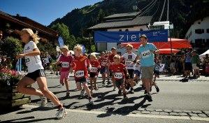 Höhen Halb Marathon Lech Zürs am Arlberg - Veranstaltungen Sommer 2018 - Bergland Appartements