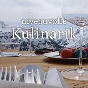 Hauben Gastronomie und Spitzen Kulinarik in Lech Zurs am Arlberg - Bergland Appartements