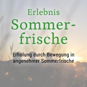 Erlebnis Sommerfrische Aktivitäten im Sommer in den Bergen Lech Zürs am Arlberg Bergland Appartements