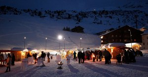 Weihnachtsmarkt Lech Zürs Arlberg Events winter 2015/16 Bergland Appartements