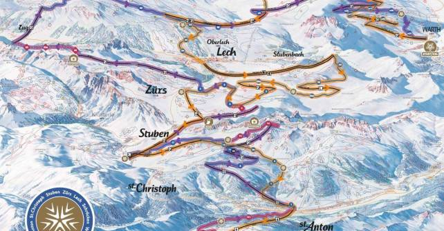 Run OF Fame: skigebietverbindung arlberg lech zuers rauz winter 2016/17 bergland appartment neuigkeiten