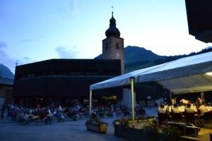 Abendkonzert der Trachtenkapelle Lech - Kirchplatz Lech