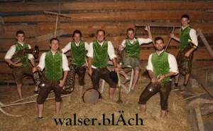 Sonntagskonzert mit walser.blÄach - Bergland Appartements - Lech Zürs am Arlberg im Sommer