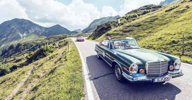 10. Arlberg Classic Car Rally: Tiroler Runde