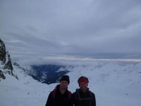 Zwei Gipfelstürmer ;)