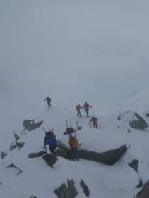 Gipfelgrat Piz Sesvenna