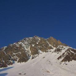 Gipfelaufbau