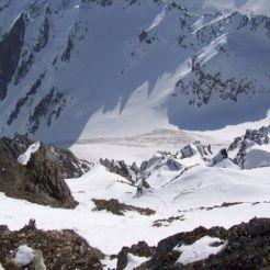 "Blick vom Gipfel in die ""Enge"""