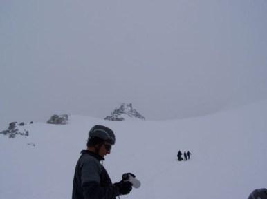 Nebel am Gipfel