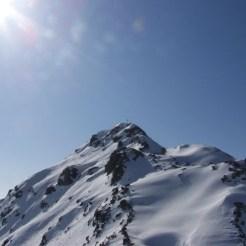 Lorenzispitze von Norden