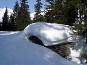 Schneemessschupfe