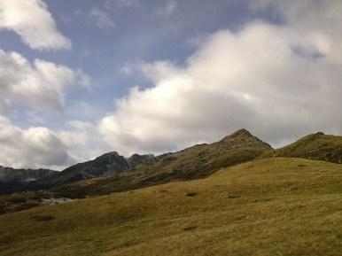 Blick zurück zu Ritzlar, Kassianspitze und Lorenzispitze