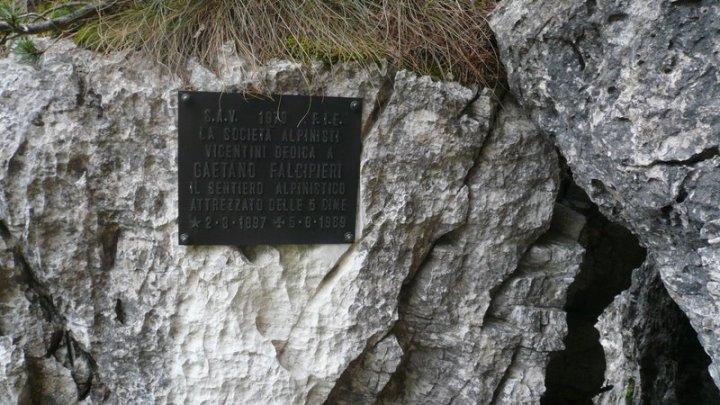 Sentiero delle cinque cime (Falcpieri-Klettersteig)