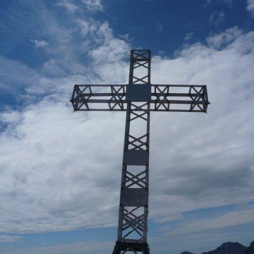Gipfelkreuz am Monte Forni Alti