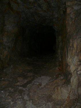 In einem der Tunnels