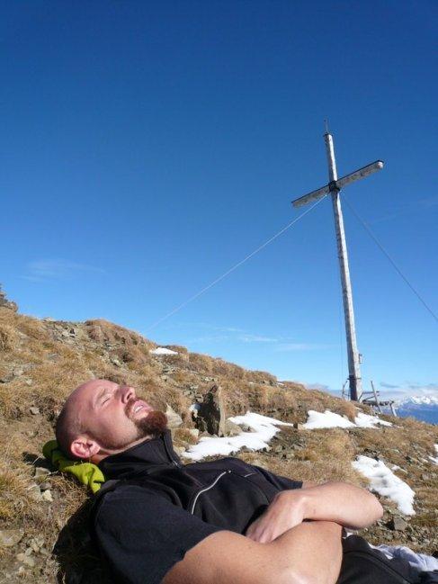 Ideale Temperaturen für ein Gipfelschläfchen