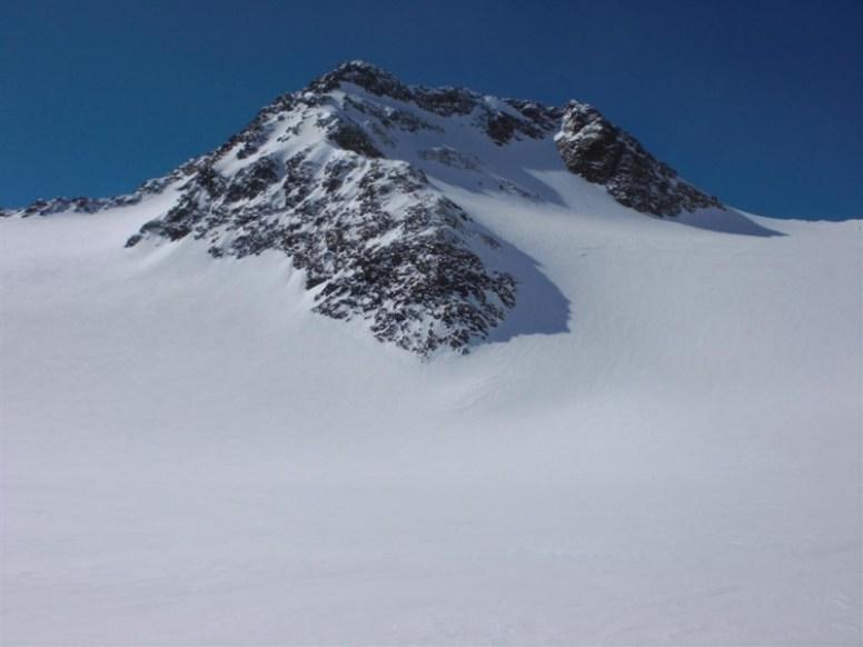 Agls vom Gletscher aus gesehen