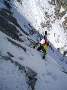 Ausstieg Hochgall Nordwand