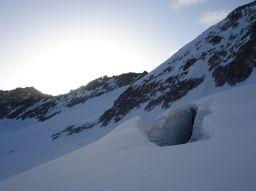 Gletscherbruch Lenksteinferner