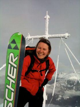 Skiwerbung
