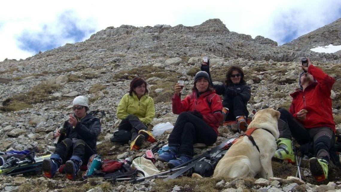 Abschlussschitour  ERZLAHN 2600m in Obereggen
