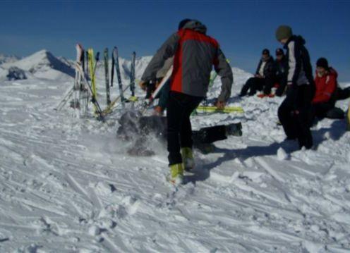 Schneeschlacht