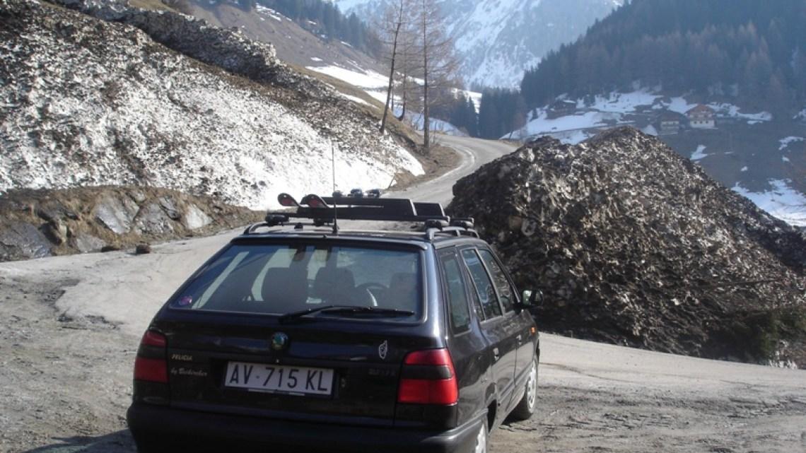Weißwand Nachbargipfel in Pfunders (2533 m)