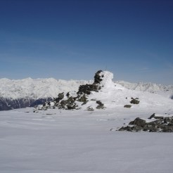 Das Gipfelsteinmännlein kommt näher