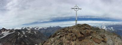 Gipfel Zufrittspitze