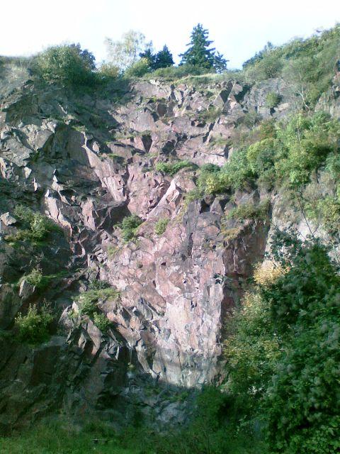 Der Klettersteig in seiner gesamten Länge und Höhe