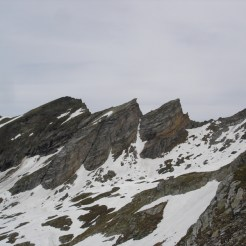 Schöne Felsspitzen Richtung Rotes Beil