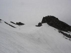 Schnee nach der Dannelspitze