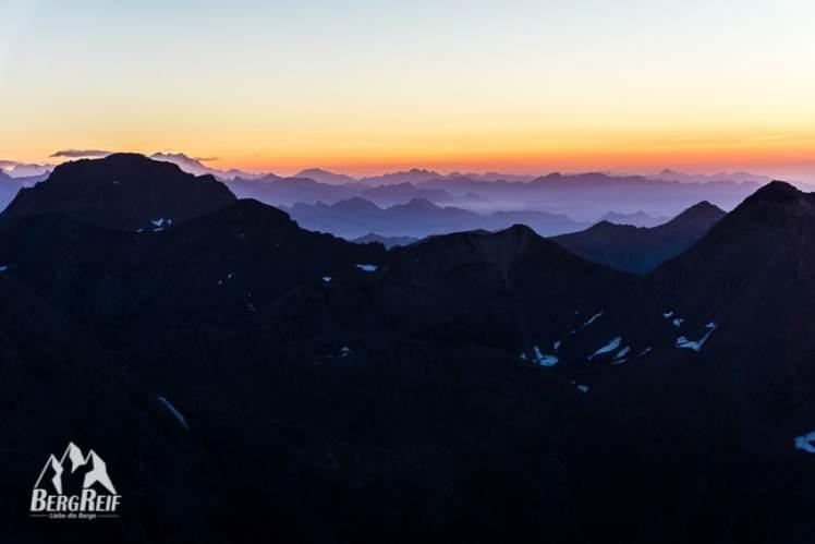 Bergfotos Goldene Stunde
