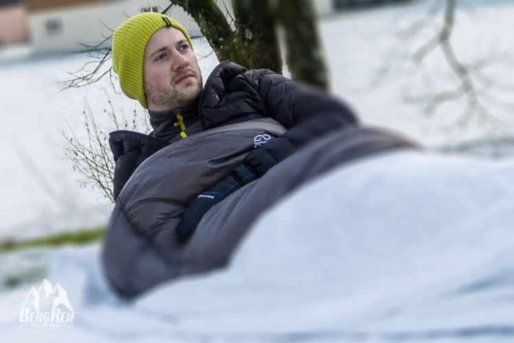 Zelten Ohne Schlafsack : Zelten im winter warm schlafsack auch bei minusgraden
